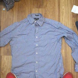 J crew button down work shirt